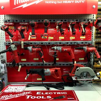 Miluake power tools at RAKS Building Supply in Los Lunas, Albuquerque, Socorro and Edgewood, New Mexico.