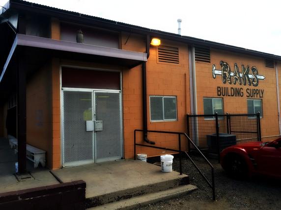 RAKS Building Supply on 12th Street in Albuquerque.