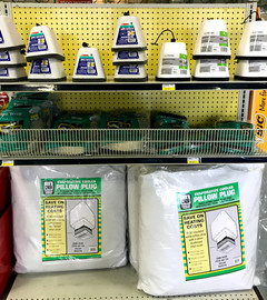 Faucet covers, pipe wrap and evaporated cooler covers at RAKS Building Supply.