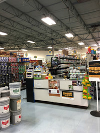 Paint Department at RAKS Building Supply in Los Lunas, New Mexico.