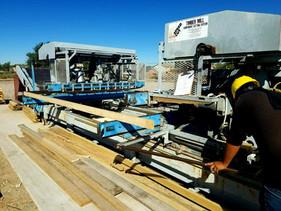 Truss plant at RAKS Building Supply in Albuquerque,