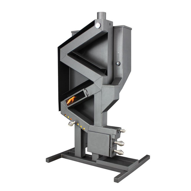 Wiseway non-electric wood burning pellet stove.