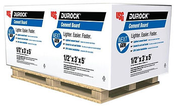 Durock cement bord is available at RAKS Building Supply in Los Lunas, Albuquerque, Socorro and Edgewood, New Mexico.