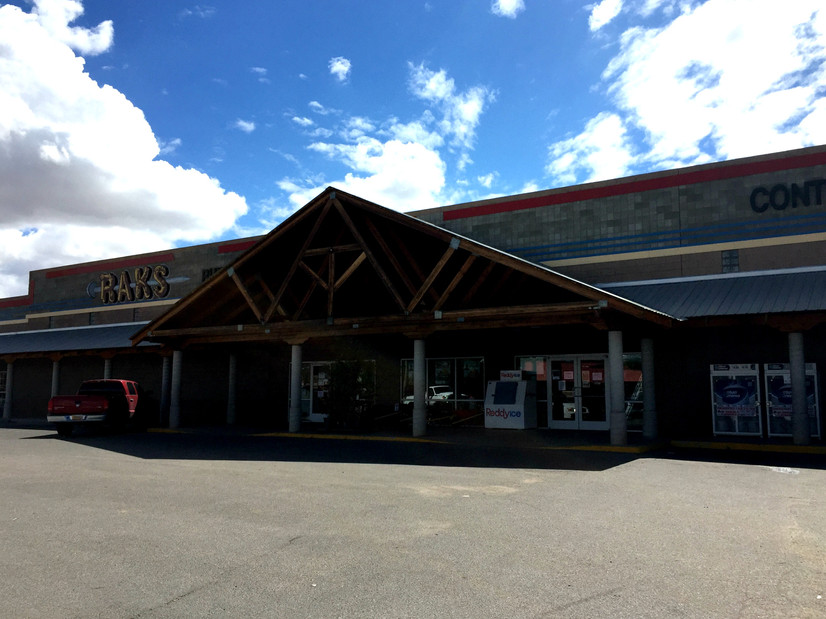 RAKS is a lumber yard and hardware store in Los Lunas, New Mexico.