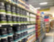 Interior and exterior paint, spray paint and paint supplies at RAKS Building Supply in Los Lunas, Albuquerque, Edgewood and Socorro, New Mexico.