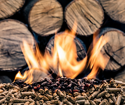 Wood Burning Pellets in stock at RAKS Building Supply in Los Lunas, Albuquerque, Edgewood and Socorro.