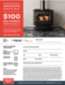 Wood Stove Rebate RAKS Building Supply in New Mexico.