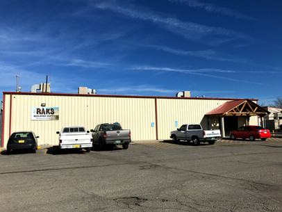 RAKS is a lumber yard and hardware store on Rio Bravo in Albuquerque, New Mexico.
