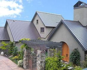Metal roofing at RAKS Building Supply in Los Lunas, Albuquerque, Socorro and Edgewod, New Mexico.