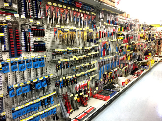 Hand Tools at RAKS Building Supply in New Mexico.