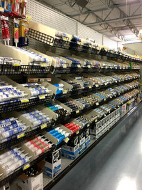 Caulk at RAKS Building Supply in Los Lunas, New Mexico.