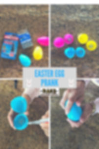 Easter egg prank at RAKS Buildng Supply in Los Lunas, Albuquerque, Edgewood and Socorro, New Mexic.