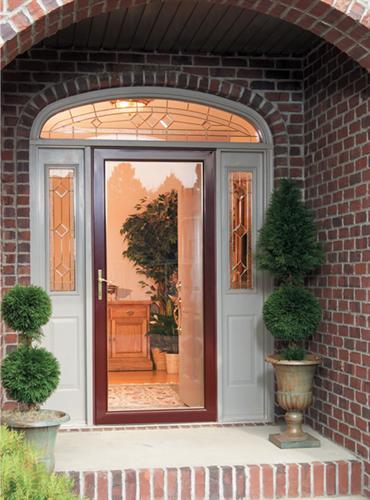 Secure Ellegant Larson Storm Door