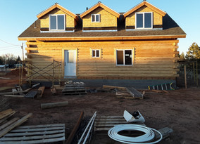 Construction completion loan on 80% finished SFR