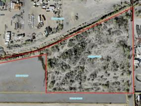8 Acre Raw Commercial Land Parcel