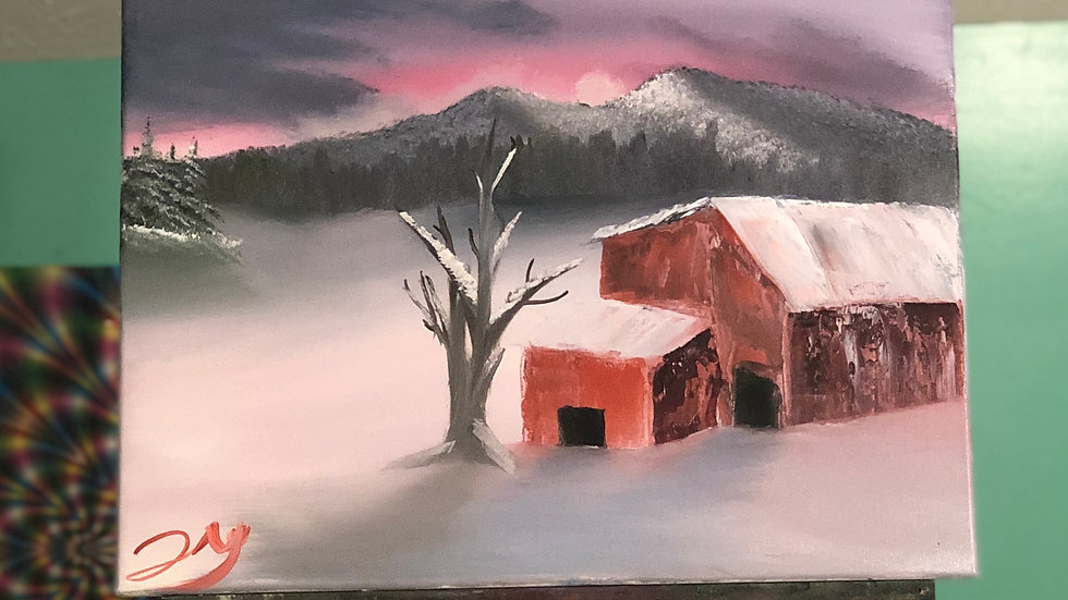 Blue Ridge Winter