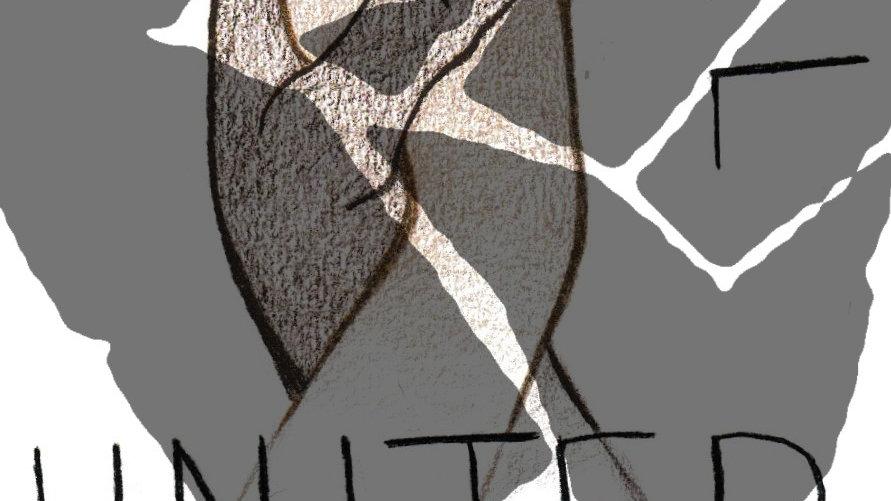 Full color print of drawing by Mya Rubeke