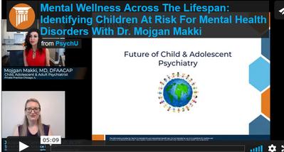 Identifying Children at Risk for Mental Health Disorders