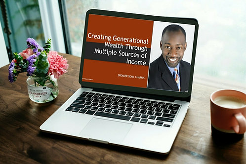 Creating Generational WealthThrough Building Multiple Sources Of Income Course