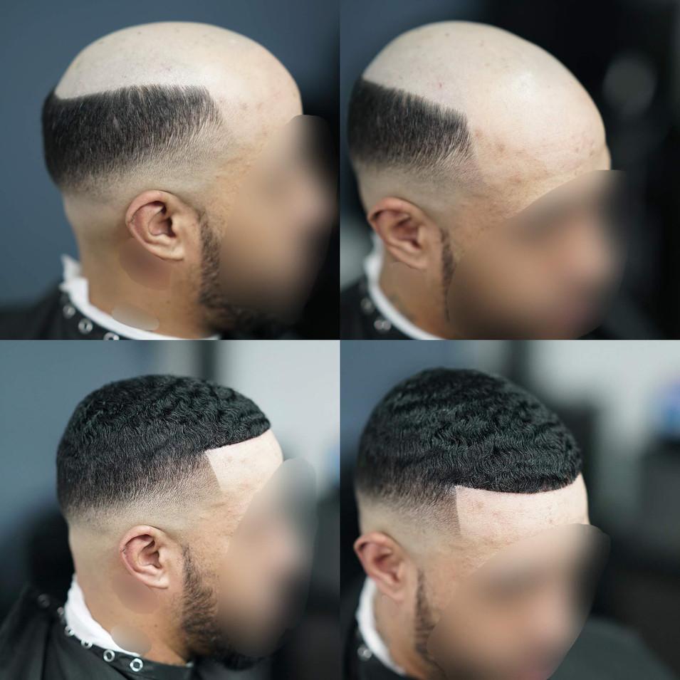 HAIR UNIT PROCESS