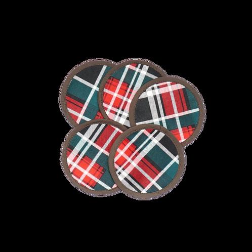 Tartan Handmade Coasters