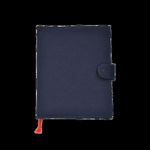 Handmade Journal Cover (Navy)