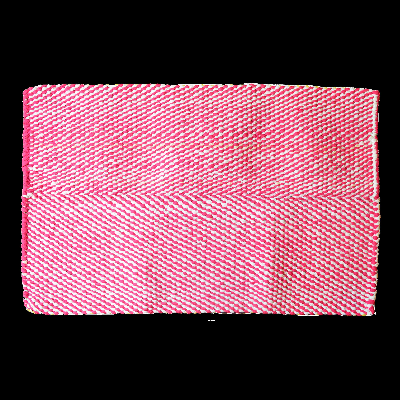 Picture of: Hot Pink Carnation Large Rectangular Rug Design For Good