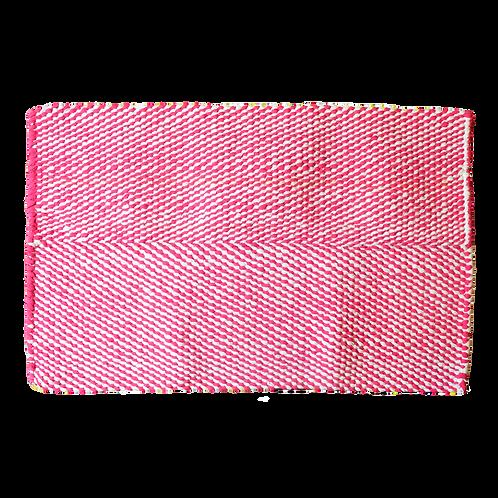 Hot Pink Carnation (Large Rectangular Rug)