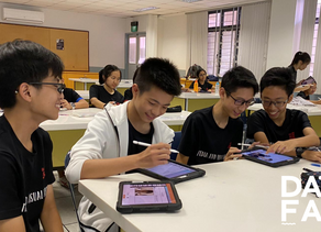 DAFA goes west at Jurong Secondary School!