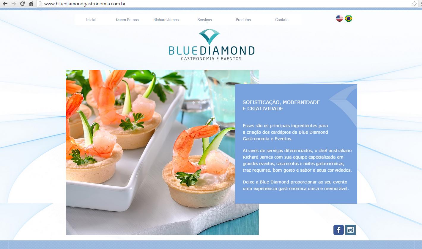www.bluediamondgastronomia.com.br