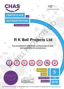 RK Bell Projects Ltd - CHAS Premium Plus