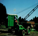 Old preistman Wolf  Rope operated excavator