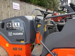 Hamm HD14VV Roller