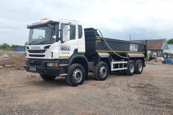 Scannia Tipper Lorry