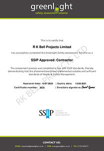 R K Bell Projects Ltd - Greenlight Safet