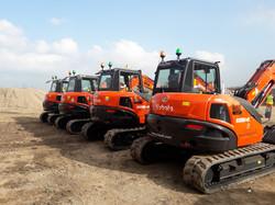 Kubota KX080-4 GL Mini Excavators