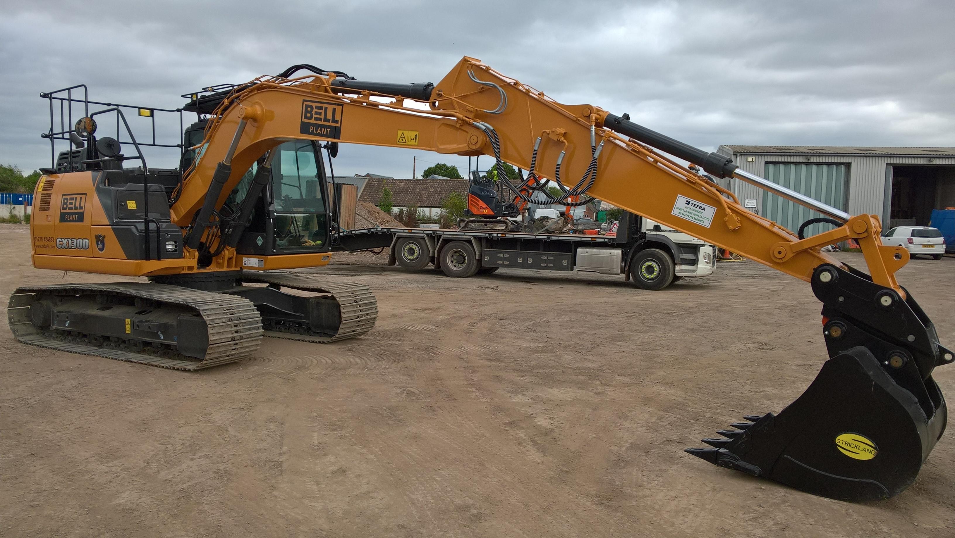 Case CX130D Excavator