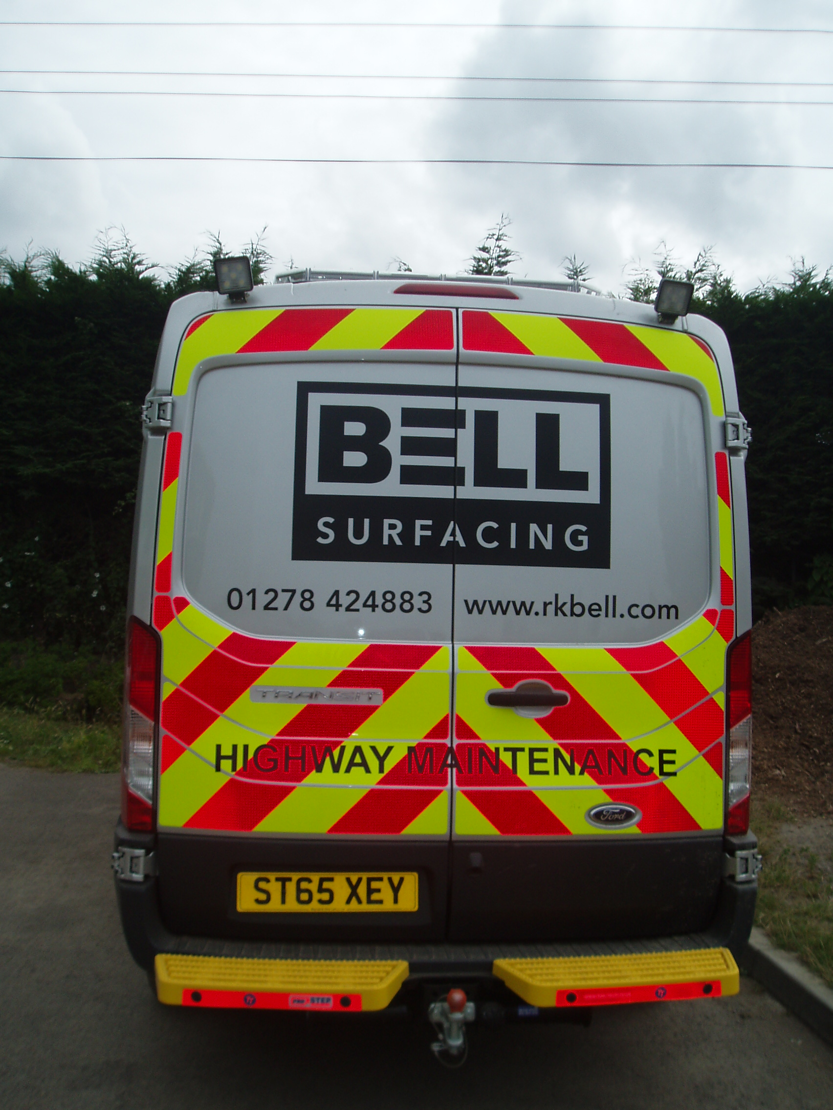 New Surfacing Van