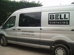 New Surfacing Van