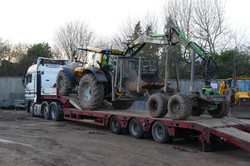 DAF Beavertail Truck