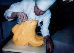 cheese sculpture