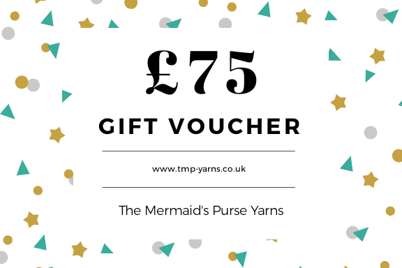 £75 Gift Voucher for The Mermaid's Purse Yarns