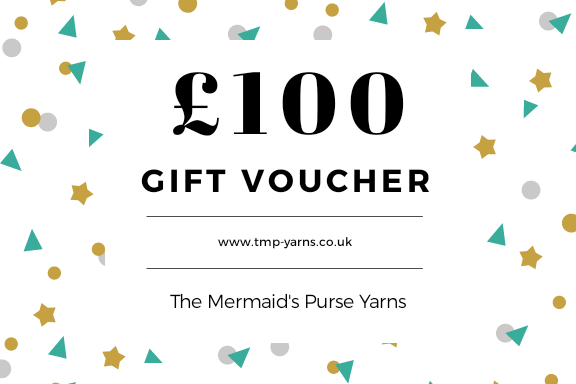 £100 Gift Voucher for The Mermaid's Purse Yarns