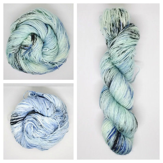 Mary's Escape available in 4ply, DK, Aran, Sock in Wool and Cotton