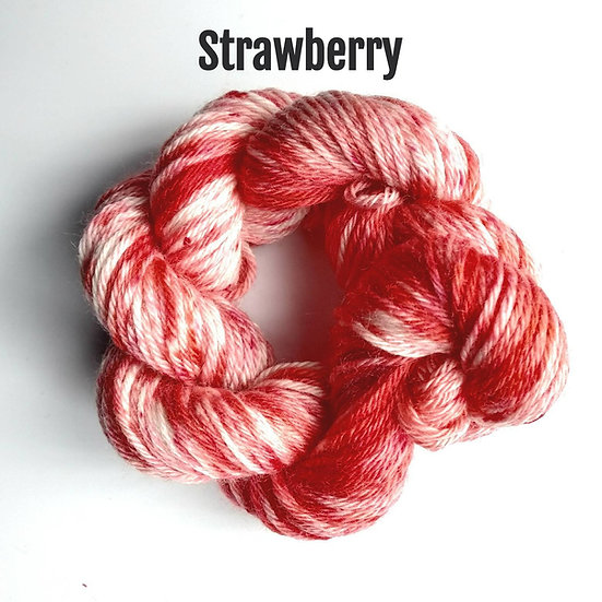 Recycled T-Shirt Yarn Hand Dyed 200g