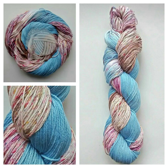 Harvest Sky available in 4ply, DK, Aran, Sock in Wool and Cotton