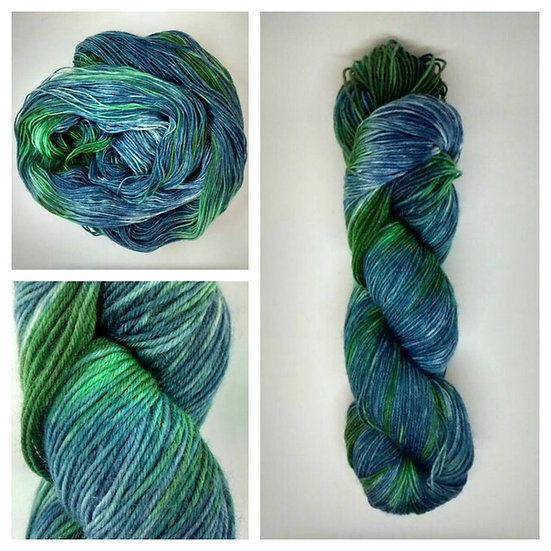 Monterey Bay available in 4ply, DK, Aran, Sock in Wool and Cotton
