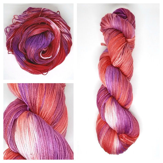 The Tanner's Daughter available in 4ply, DK, Aran, Sock in Wool and Cotton