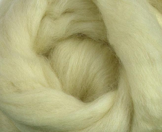 Bluefaced Leicester Wool Top Roving Fibre 50g