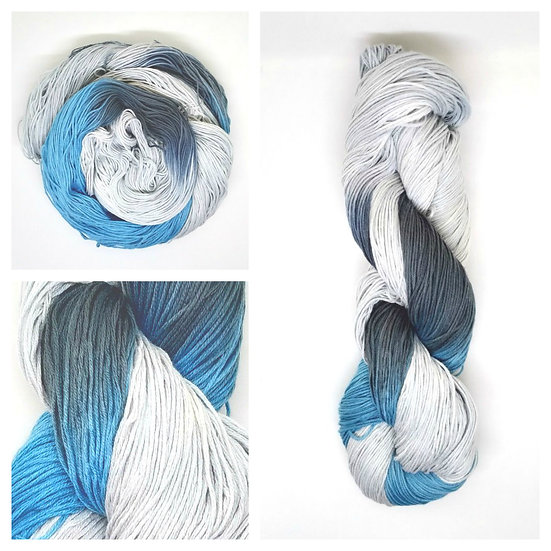 Blue Footed Booby available in 4ply, DK, Aran, Sock in Wool and Cotton